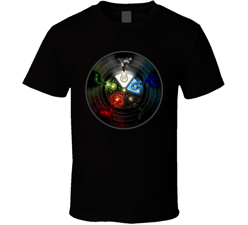 Magic the Gathering Mana Wizards CCG Card Game T Shirt