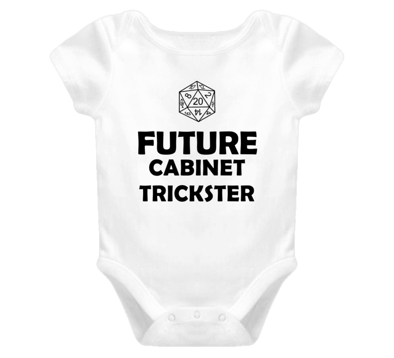 Future Cabinet Trickster Role Playing Game Baby One Piece