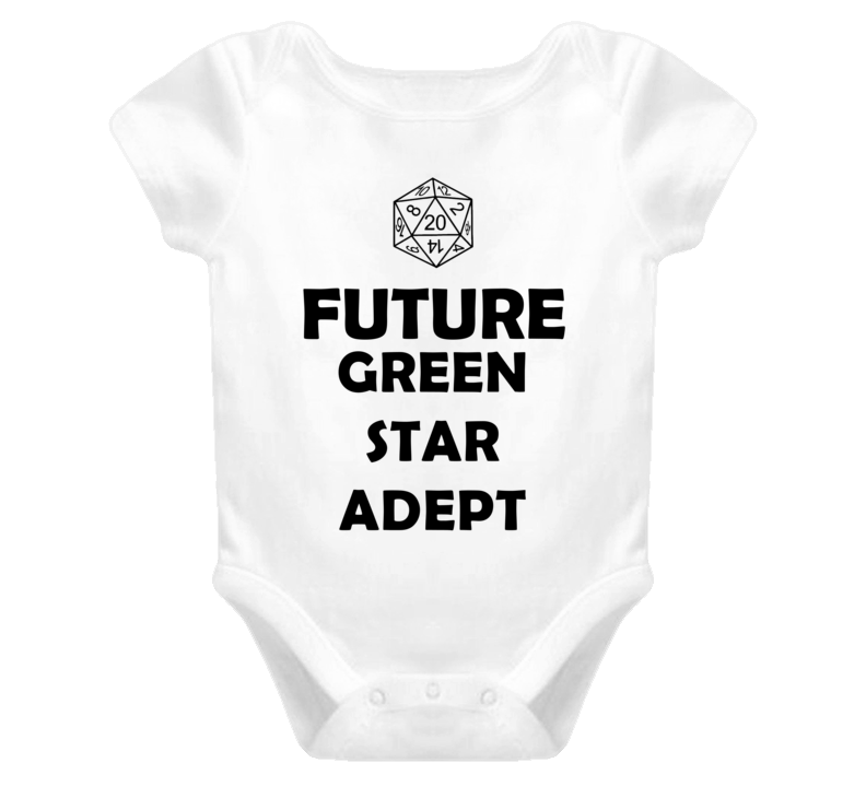 Future Green Star Adept Role Playing Game Baby One Piece