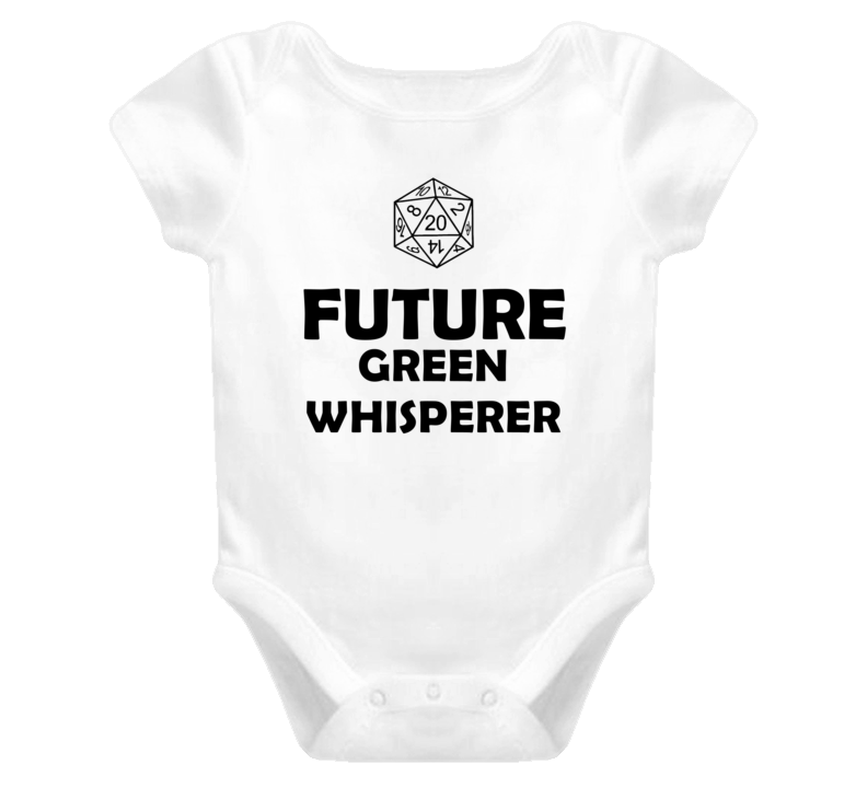 Future Green Whisperer Role Playing Game Baby One Piece