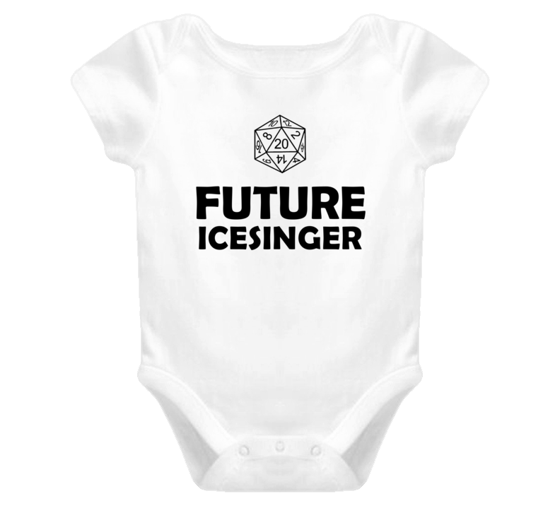 Future Icesinger Role Playing Game Baby One Piece