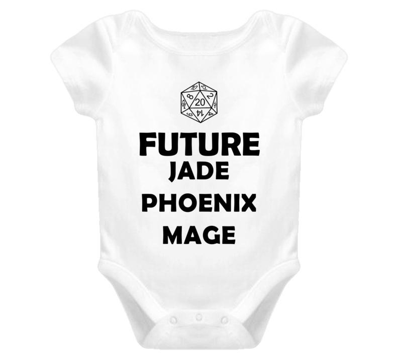 Future Jade Phoenix Mage Role Playing Game Baby One Piece