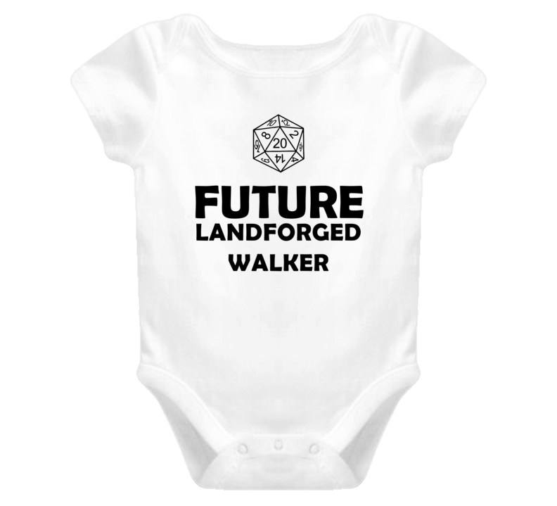 Future Landforged Walker Role Playing Game Baby One Piece