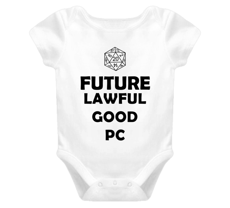 Future Lawful Good PC Role Playing Game Baby One Piece