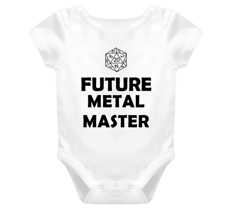 Future Metal Master Role Playing Game Baby One Piece