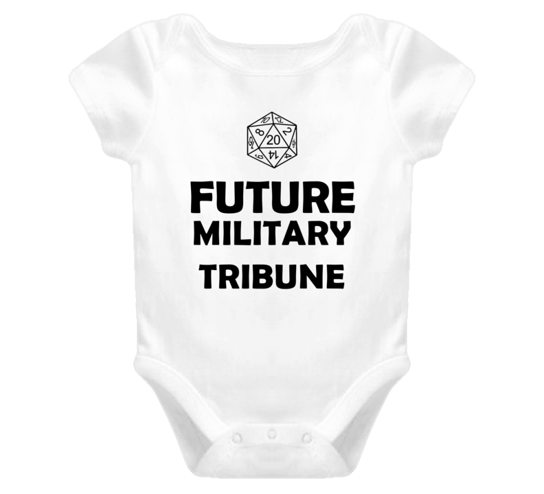 Future Military Tribune Role Playing Game Baby One Piece