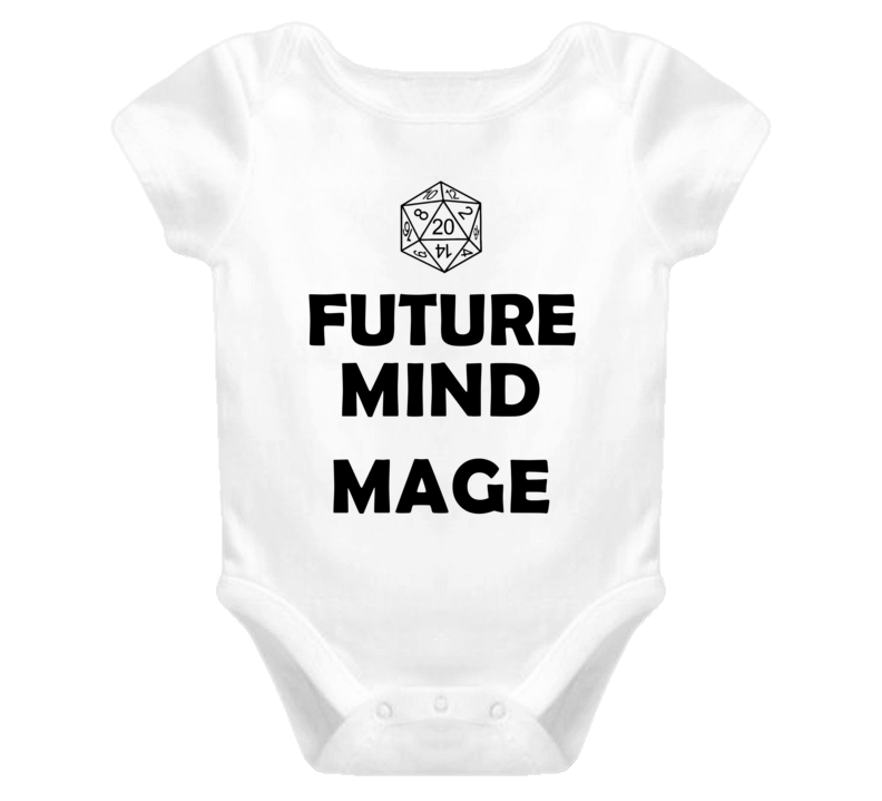 Future Mind Mage Role Playing Game Baby One Piece