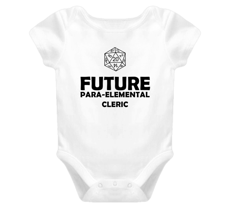 Future Para elemental Cleric Role Playing Game Baby One Piece
