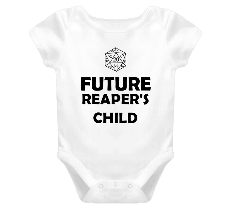 Future Reapers Child Role Playing Game Baby One Piece