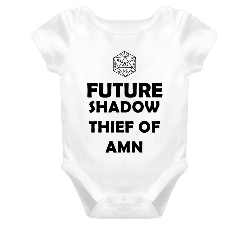 Future Shadow Thief of Amn Role Playing Game Baby One Piece