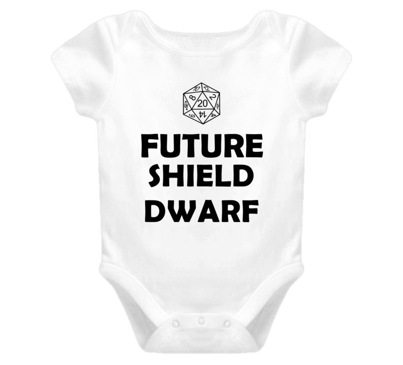 Future Shield Dwarf Role Playing Game Baby One Piece