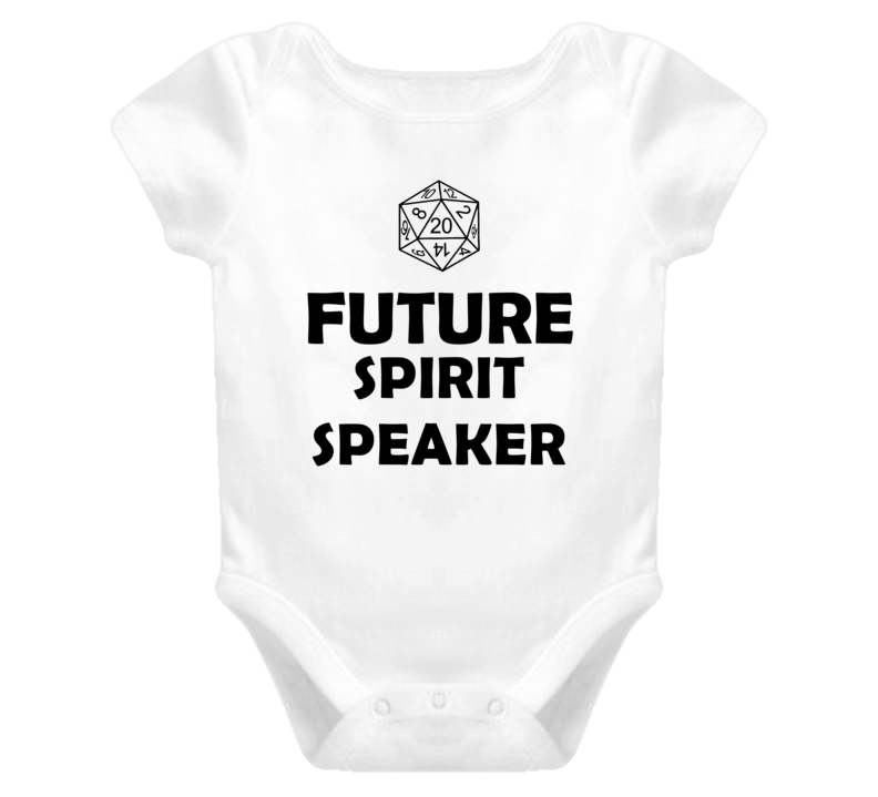 Future Spirit Speaker Role Playing Game Baby One Piece