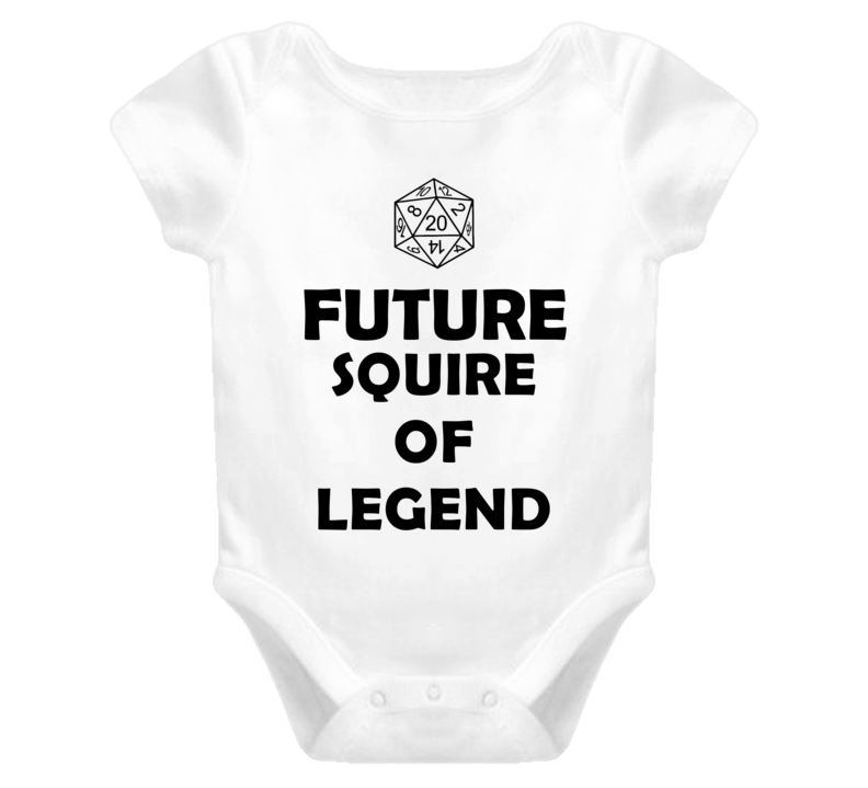 Future Squire of Legend Role Playing Game Baby One Piece