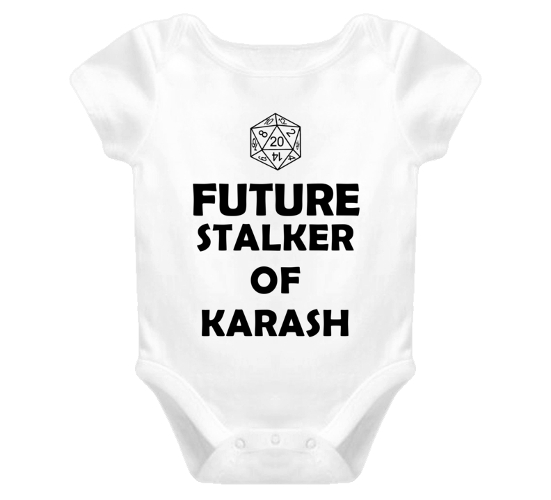 Future Stalker of Karash Role Playing Game Baby One Piece