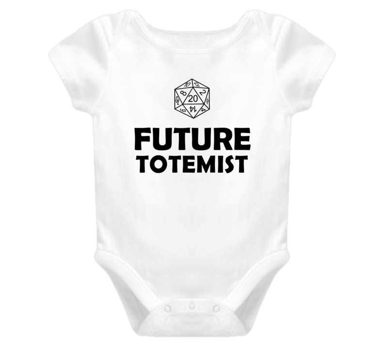 Future Totemist Role Playing Game Baby One Piece