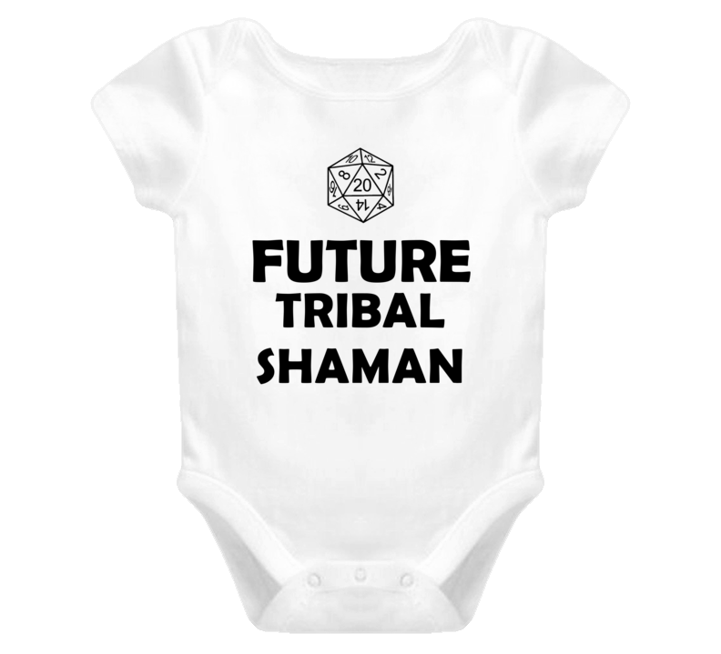 Future Tribal Shaman Role Playing Game Baby One Piece