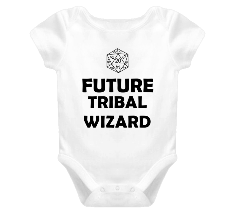 Future Tribal Wizard Role Playing Game Baby One Piece