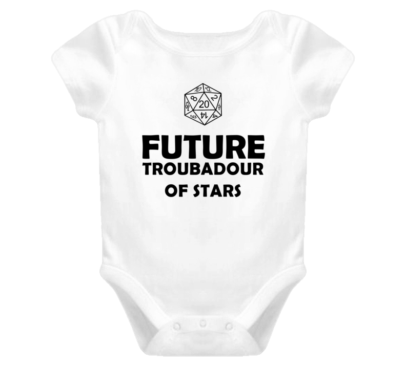Future Troubadour of Stars Role Playing Game Baby One Piece