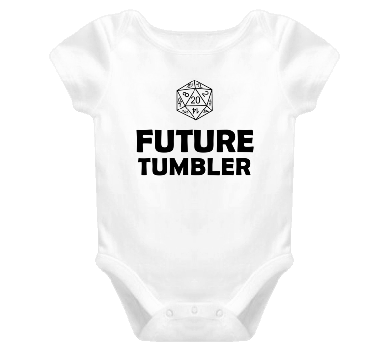 Future Tumbler Role Playing Game Baby One Piece