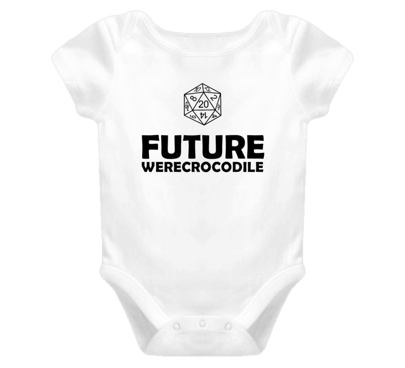 Future Werecrocodile Role Playing Game Baby One Piece