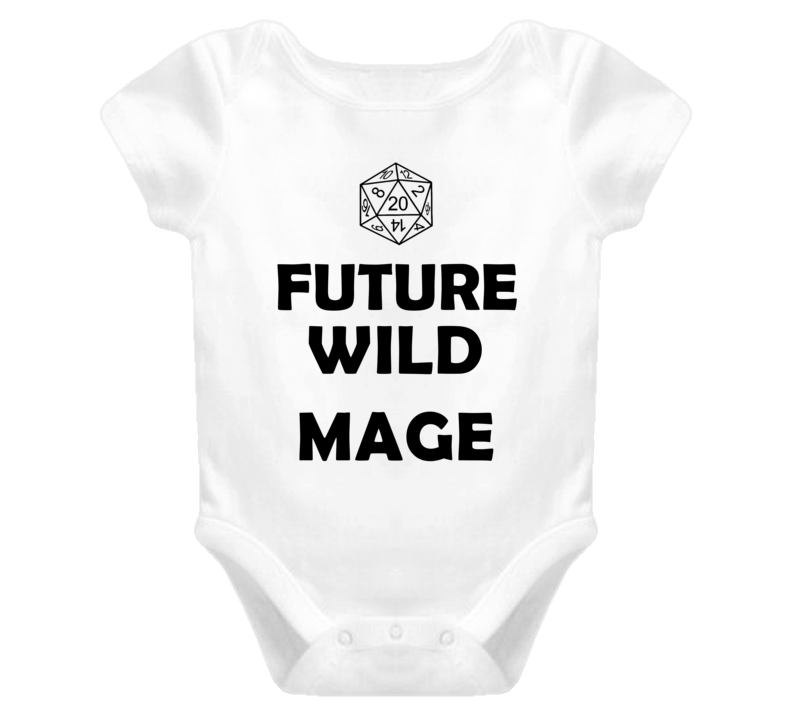 Future Wild Mage Role Playing Game Baby One Piece
