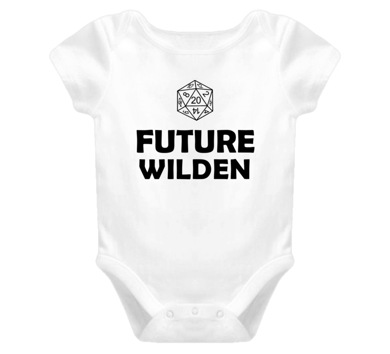 Future Wilden Role Playing Game Baby One Piece