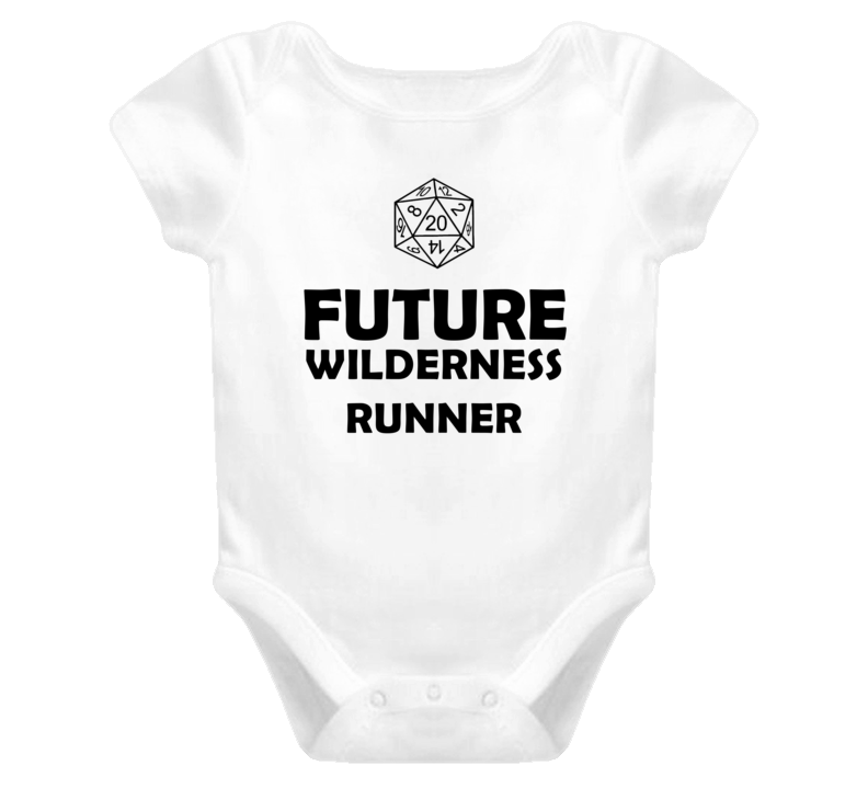 Future Wilderness Runner Role Playing Game Baby One Piece