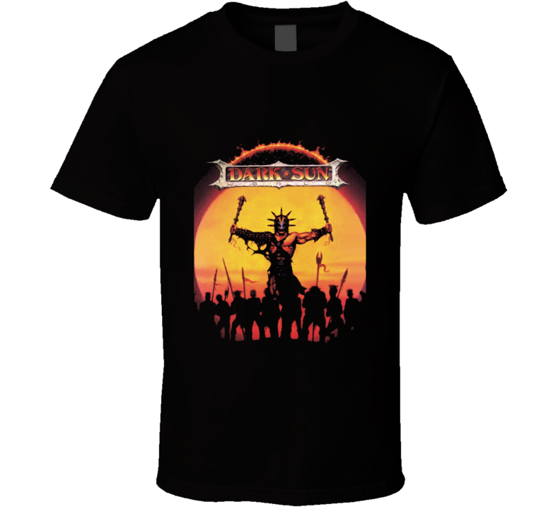 Dark Sun World RPG Campaign Setting D&D Dungeons Dragons T Shirt