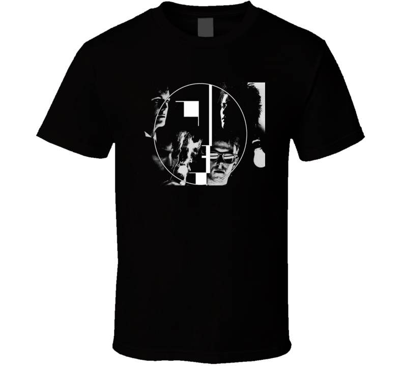 Bauhaus Goth Rock Pop Music Band Image T Shirt