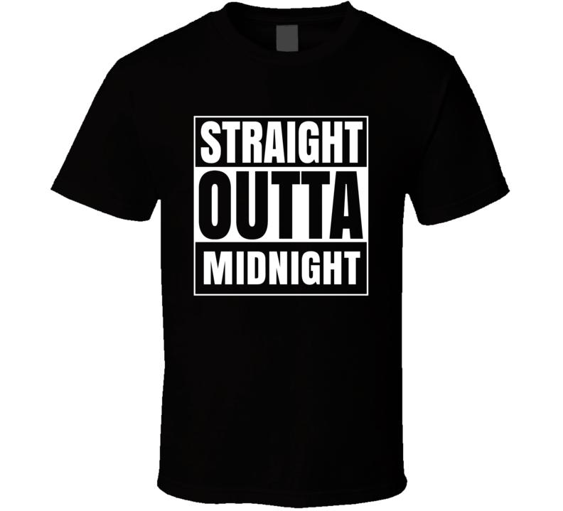 Straight Outta Midnight RPG Fantasy Parody T Shirt