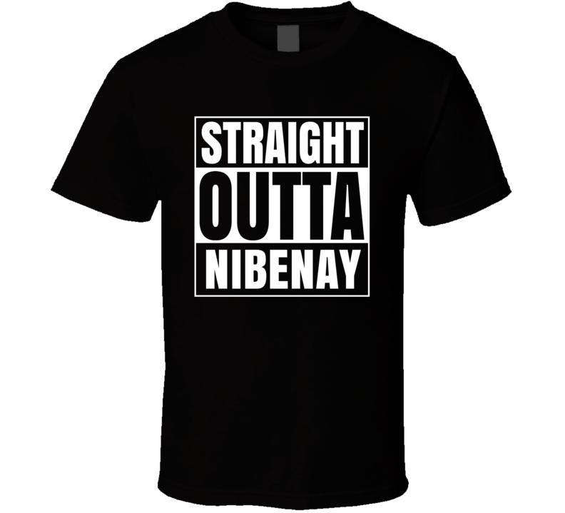 Straight Outta Nibenay RPG Fantasy Parody T Shirt