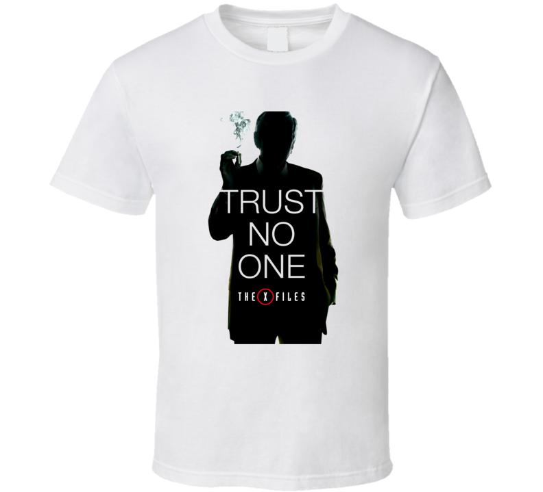 X Files TV Show Cancer Man T Shirt