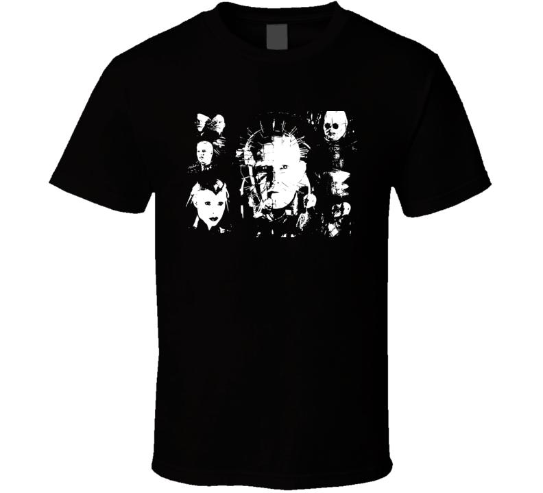 Hellraiser Cult Horror Movie Film Cenobite Family T Shirt