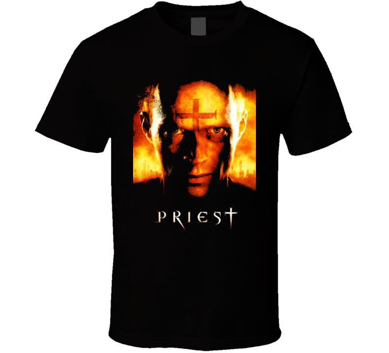 Priest Movie Vampires Horror T Shirt