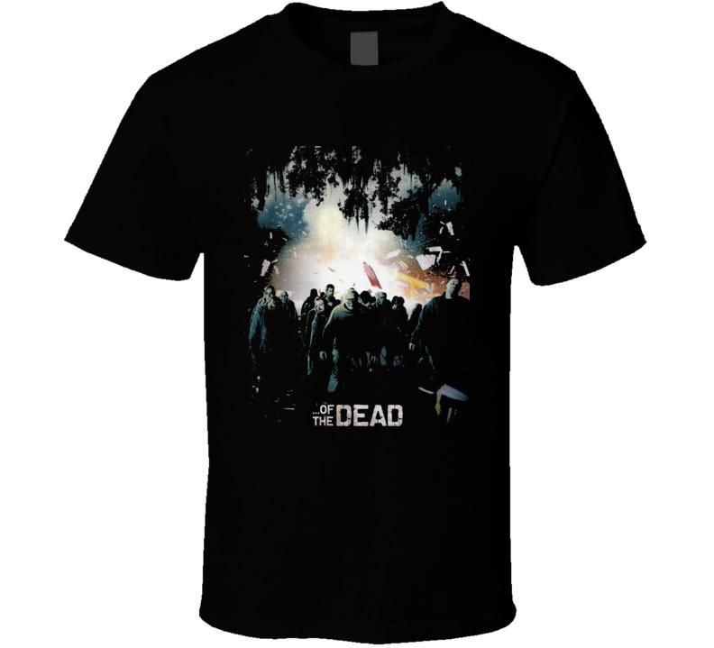 Of The Dead Horror Zombie Movie Romero T Shirt