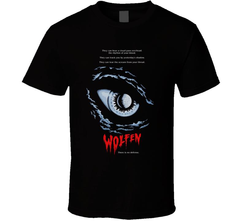 Wolfen Cult Horror Movie Lycanthropy T Shirt