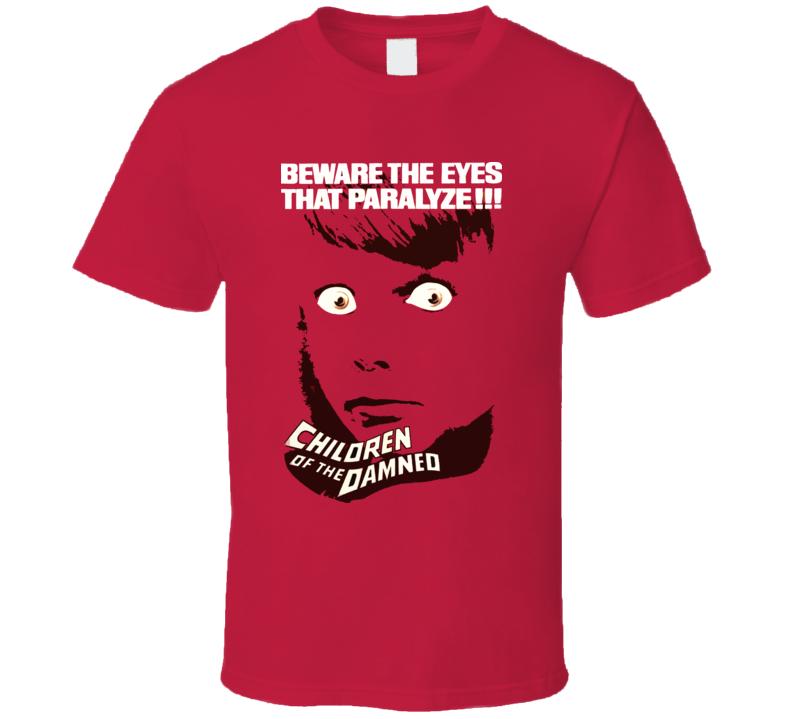 Children Of The Damned Horror Cult Movie T Shirt