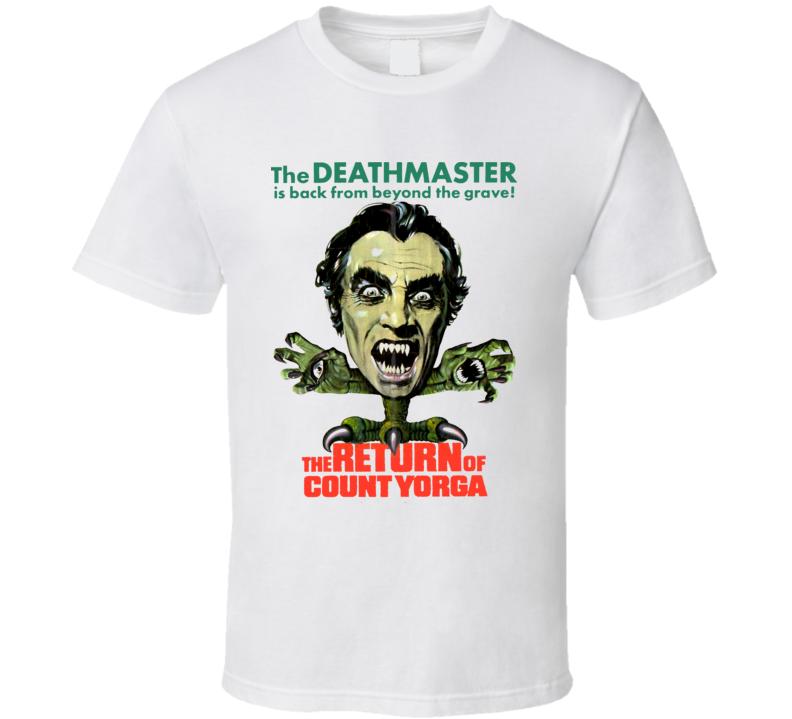 The Return Of Count Yorga Vampires Horror Movie T Shirt