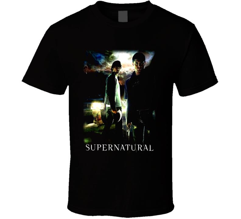 Supernatural Tv Show T ShirtSupernatural Tv Show