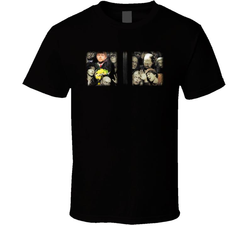 Shaun Of The Dead Horror Comedy Movie T Shirt