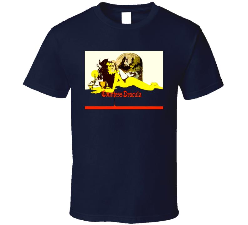 Countess Dracula Horror Movie T Shirt