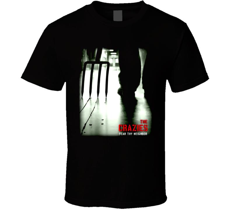 The Crazies Horror Movie T Shirt