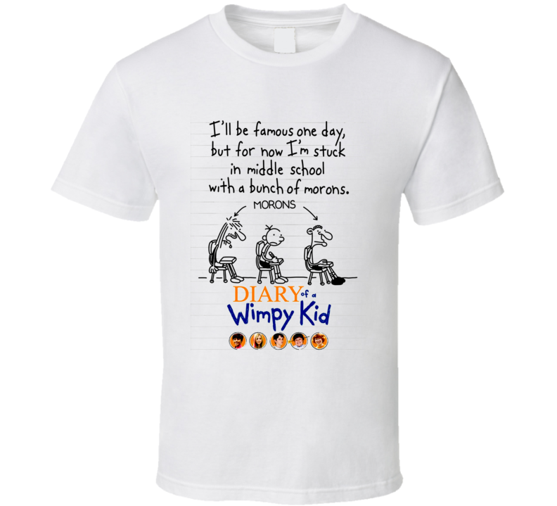 Diary Of A Wimpy Kid Movie T Shirt