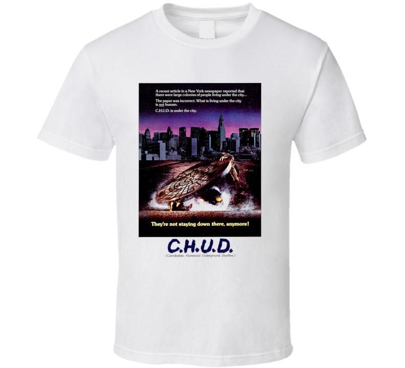 C.H.U.D. CHUD Horror Movie T Shirt