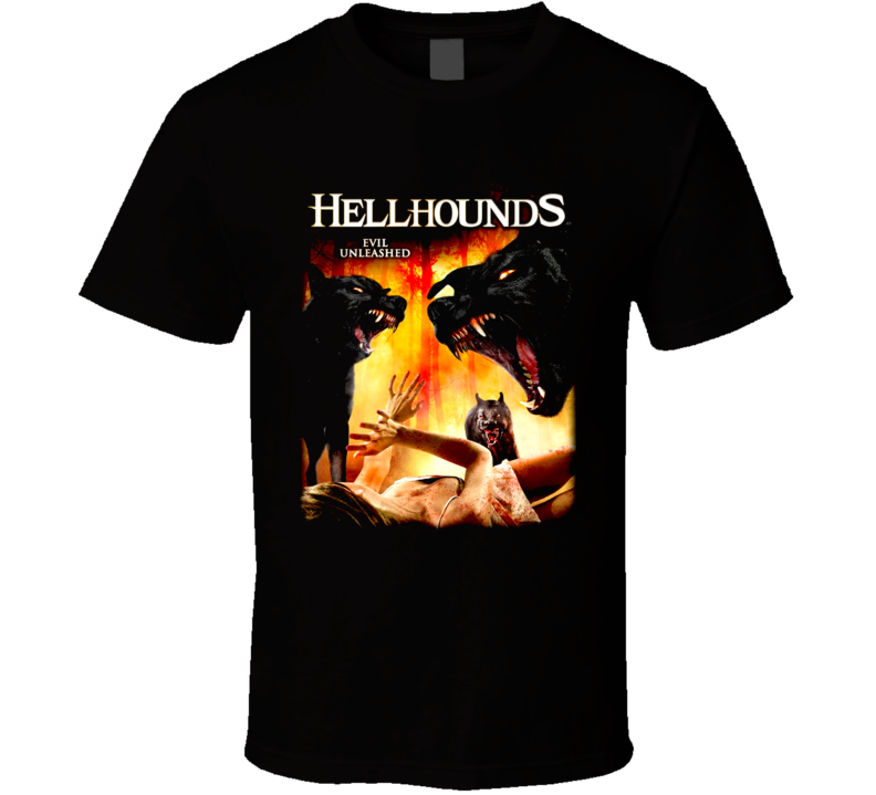 Hellhounds Horror Movie T Shirt