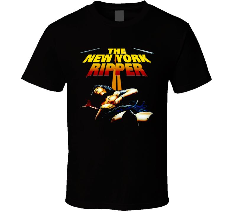 The New York Ripper Horror Movie T Shirt