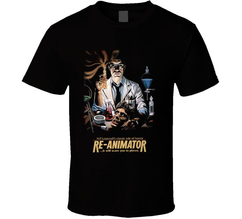 Re-animator Horror Movie T Shirt