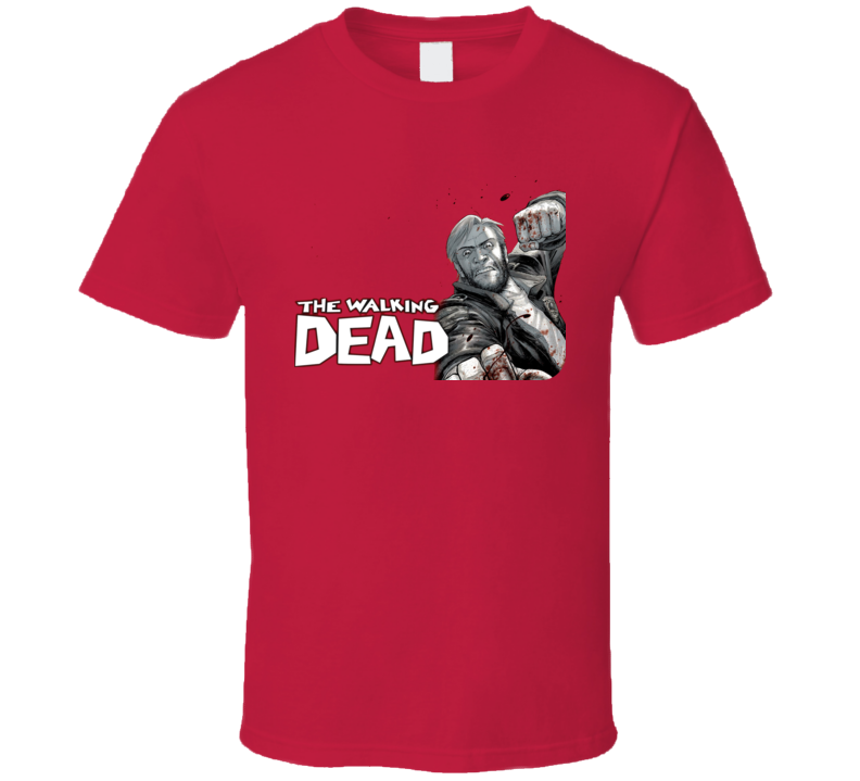 The Walking Dead Comic Zombie T Shirt