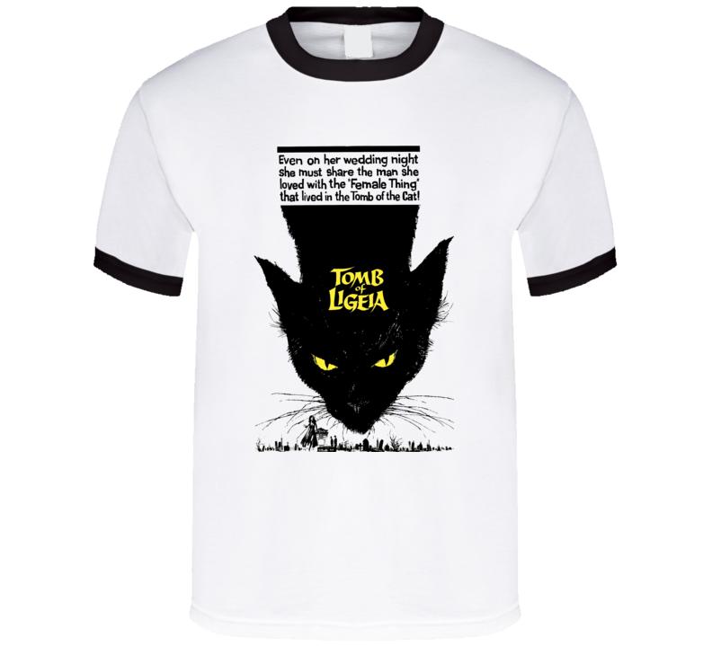 Tomb Of Ligeia Horror Movie Poe T Shirt