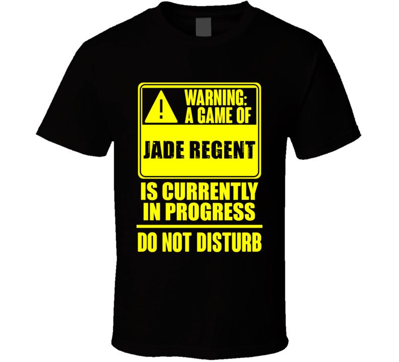 Warning Playing Jade Regent Role Playing Game T Shirt